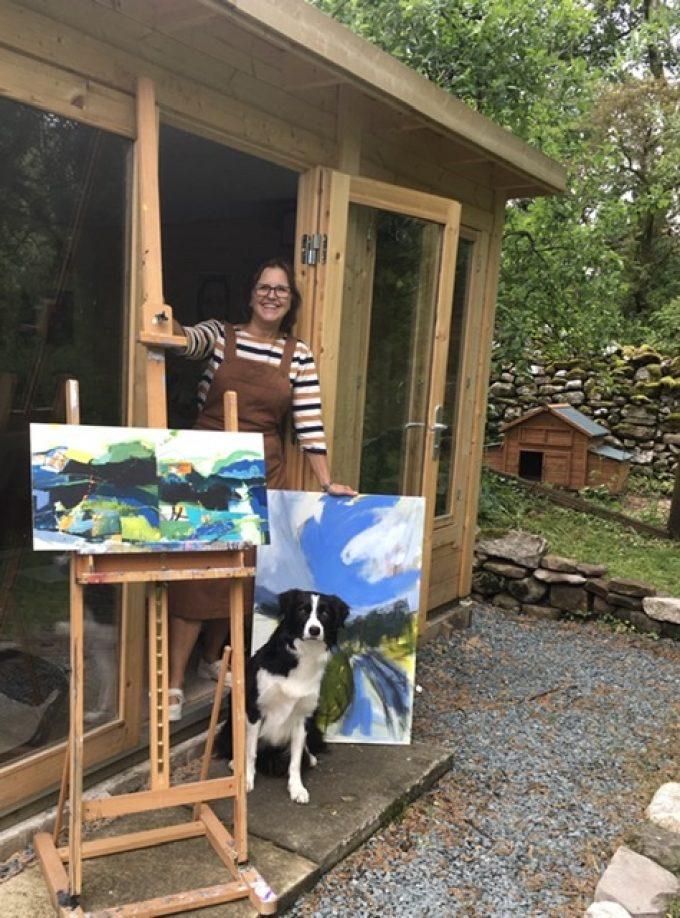 Artist Pam Smallshaw